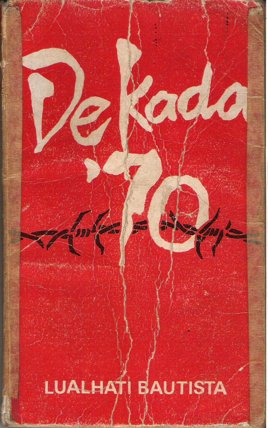 dekada 70 starting summary Reaction paper : dekada'70 dekada '70 (english: the '70s) is a 2002 filipino drama film released based on the acclaimed novel by filipino author, lualhati bautista the film was restored by the abs-cbn film archive directed by chito s roño and was released in 2002 starring vilma santos.